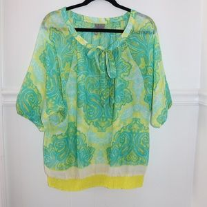 New directions Womens Blouse Size L